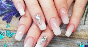 Ombre with Bling Bling __________ Zyytlos - Nails & Lashes Bahnhofstr 23 6130 Wi
