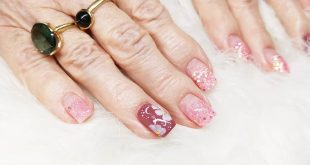 Spring Nails Gelpolishing Lipstick Loose Glitter Glitter Mix Pink by Solin Everything prod