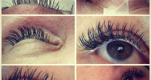 Eyelashes individually.
