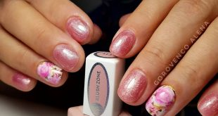 FLOWERS MANICURE ________________________ , , , Remove old cover