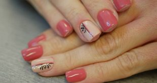 Perfect nails!  With this design the customer left me completely free hand. As