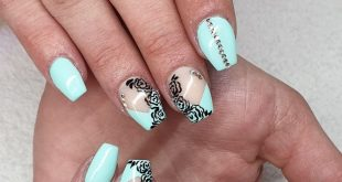 We wish you a good start into the new week , Nails made from with the following