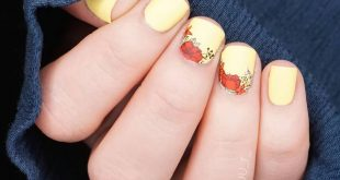 [Werbung • Markennennung]  I still have a picture for the yellow nail art.