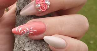 Spring Nails * Advertising * Worked with the products of Rose of