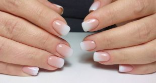 Hardware manicure, alignment and strengthening with Nanoprofessi camouflage gel