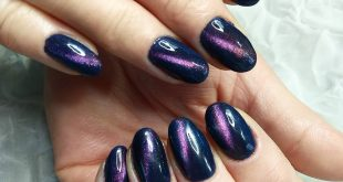 And again, cat's eye, this time purple purples ________________________