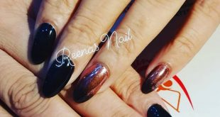 Beautiful chrome nails For further information and booking dates please contact