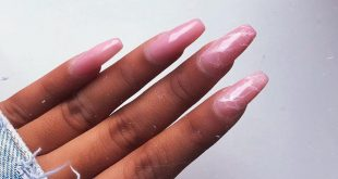 Cotton candy nails on the dear , If you want such beautiful nails,