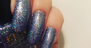 F.U.N lacquers are girls best friend for long time glitter mani . This gorgeous