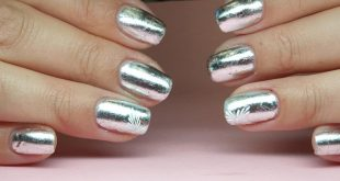 Foil Nails with Ritzy Nails products. Simply book dates online or below