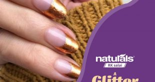 Step into our salon for a nail art session and paint your fingers with glitter