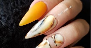 with marble Nails off