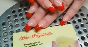 Red french nails Red french nails , , ,