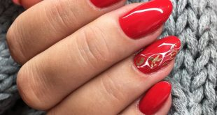 Red with fine white gold decoration beautiful red, which covers in a single incl