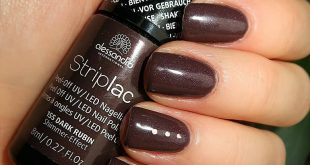 Autumn! It screams for dark colors! Dark Ruby is a brown-gray with whole