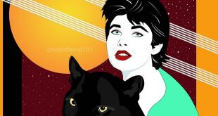 """Cat People (54"""" x 56"""") Nagel Style"""