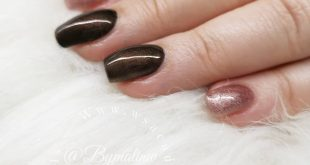 Gelpolish dark tan and champagne bronze All products from _____________________