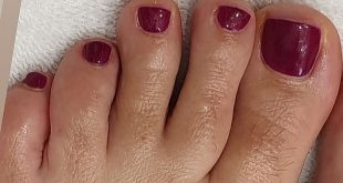 HEARTLESS  . Pedi time  Nail prep using  .. stunning colour  . . .