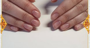 Natural nail reinforcement with manicure gel without filing