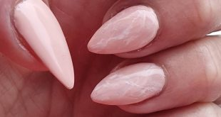 Pale Pink with little marbling