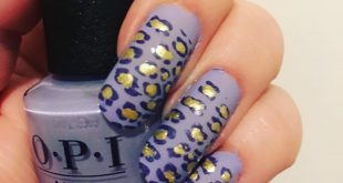 Second leopard mani for  hosted by  . I just can't have enough this theme. I use