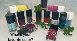 The nail polish season starts what color is yours? . .
