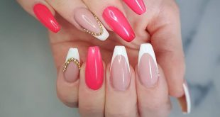 Could be a cool summer combo .. What will your next nails look like?