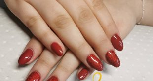 Red and glitter
