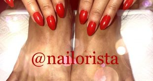 Red nails and feet
