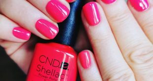 Shellac manicure  Have a nice day and enjoy the weather!