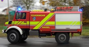 TLF 4000 from the Feuerwehr Nagel.