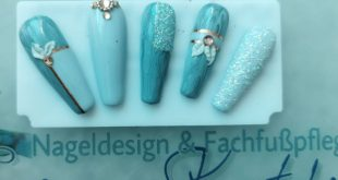 Design idea advertising Products used Different gray Glitter acrylic Rhinestones