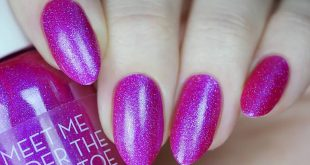 'Meet Me Under the Mistletoe'  - new limited edtion holographic nail polish from