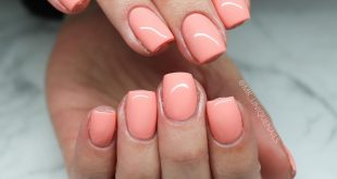 All nails are made with hard gels