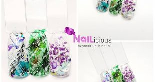 Everything with everything Dried flowers combined with stamping, spidergel, G