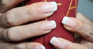 Nägeldesign mit Gel Nail implants with gel   Nails on nails