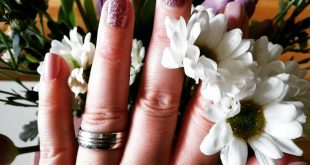 Spring time=spring nails so I feel more comfortable right away .
