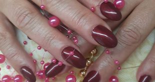 The classic Red nails, always go Thanks for coming