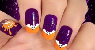 Halloween nails  I know it's a little early, but here it is: my bad Halloween