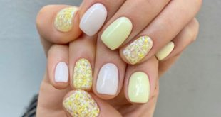 Lemon tweed nails please order this week ASAP! Thursday available for booking -  Glitter is ONU Nail Tweed Glitter! ... ...  And these days reservations