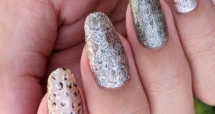 This type of nail wrap, AMP (known as Olivia), is one of my favorites that I wear