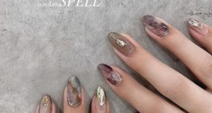 Autumn flavor increased Nuance with matte color  nail nuance  Nuance of nails  On sale • Champagne mirror ・ Gold leaf, platinum, gold ・ Shining