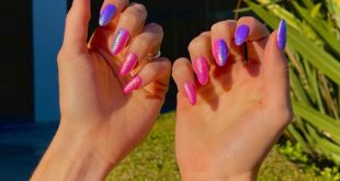My Little Pony nails ... Used By: Unicorn Dust ...  natural nails ...