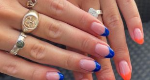 You can't beat the French tip !!  All my own natural nails using BIAB, I suggest